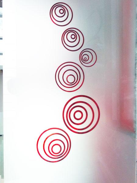 vetreria gottardi, porta interna, vetro satinato