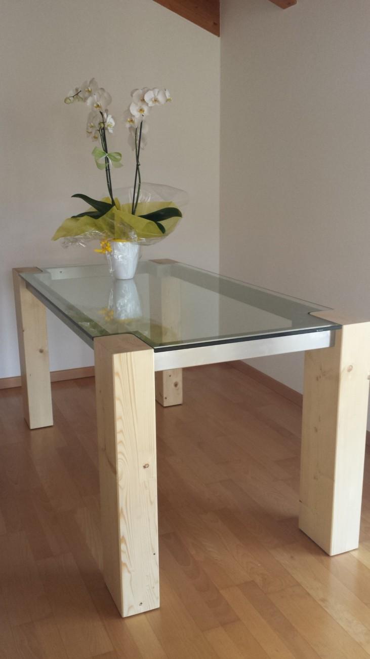 vetreria gottardi, tavolo, tavolo in vetro