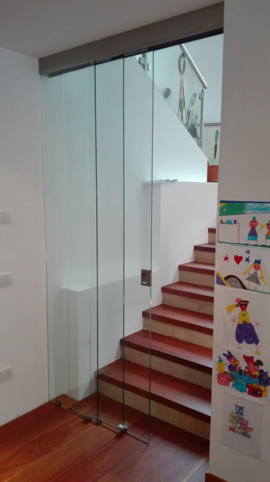 vetreria gottardi, scorrevole, parete divisoria, divisoria scorrevole, vetro, gottardi pergine, vetreria, vetro
