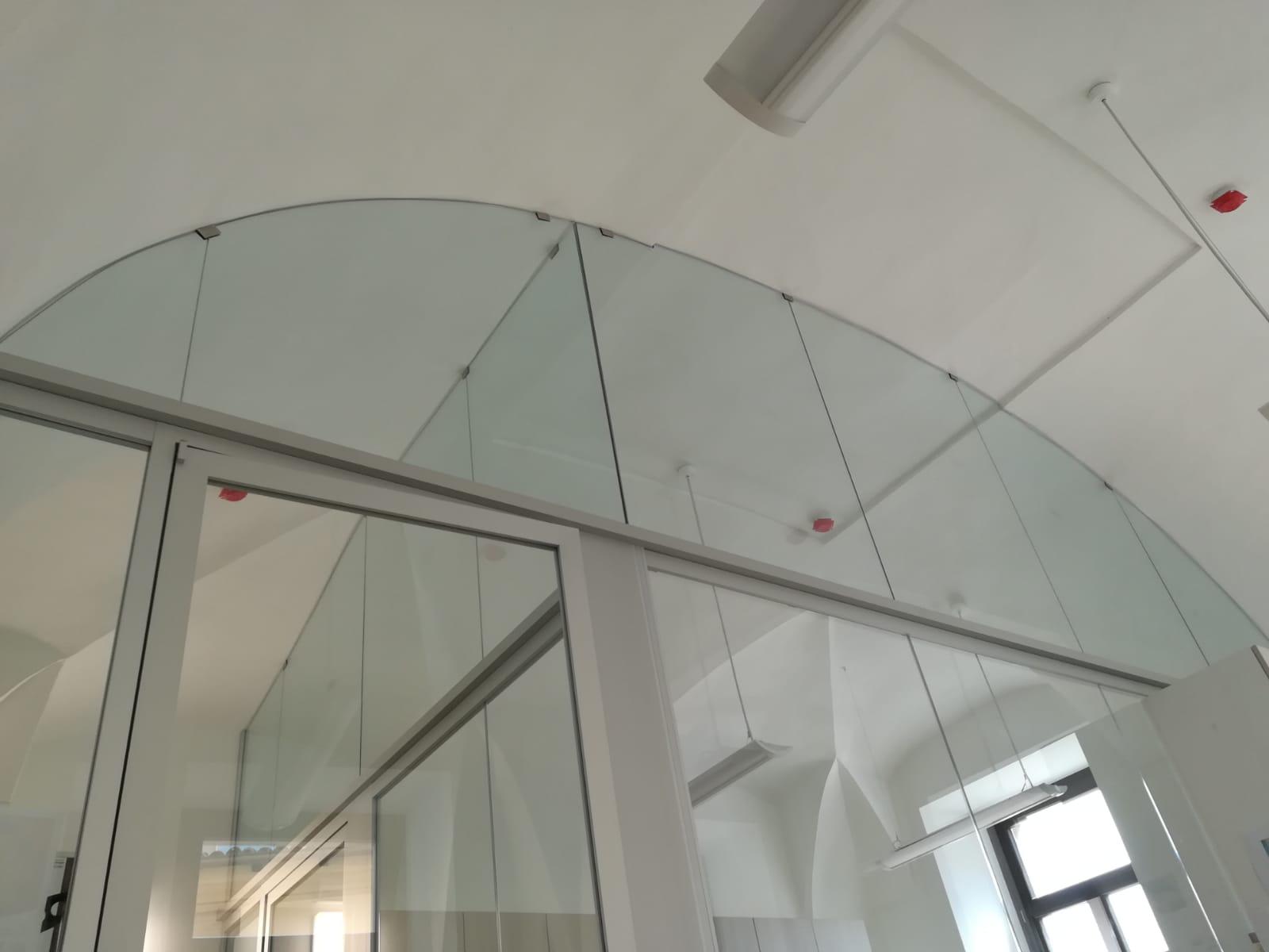 vetreria gottardi, parete divisoria, divisoria, vetro, gottardi pergine, vetreria, vetro, pergine, trento, divisoria uffici