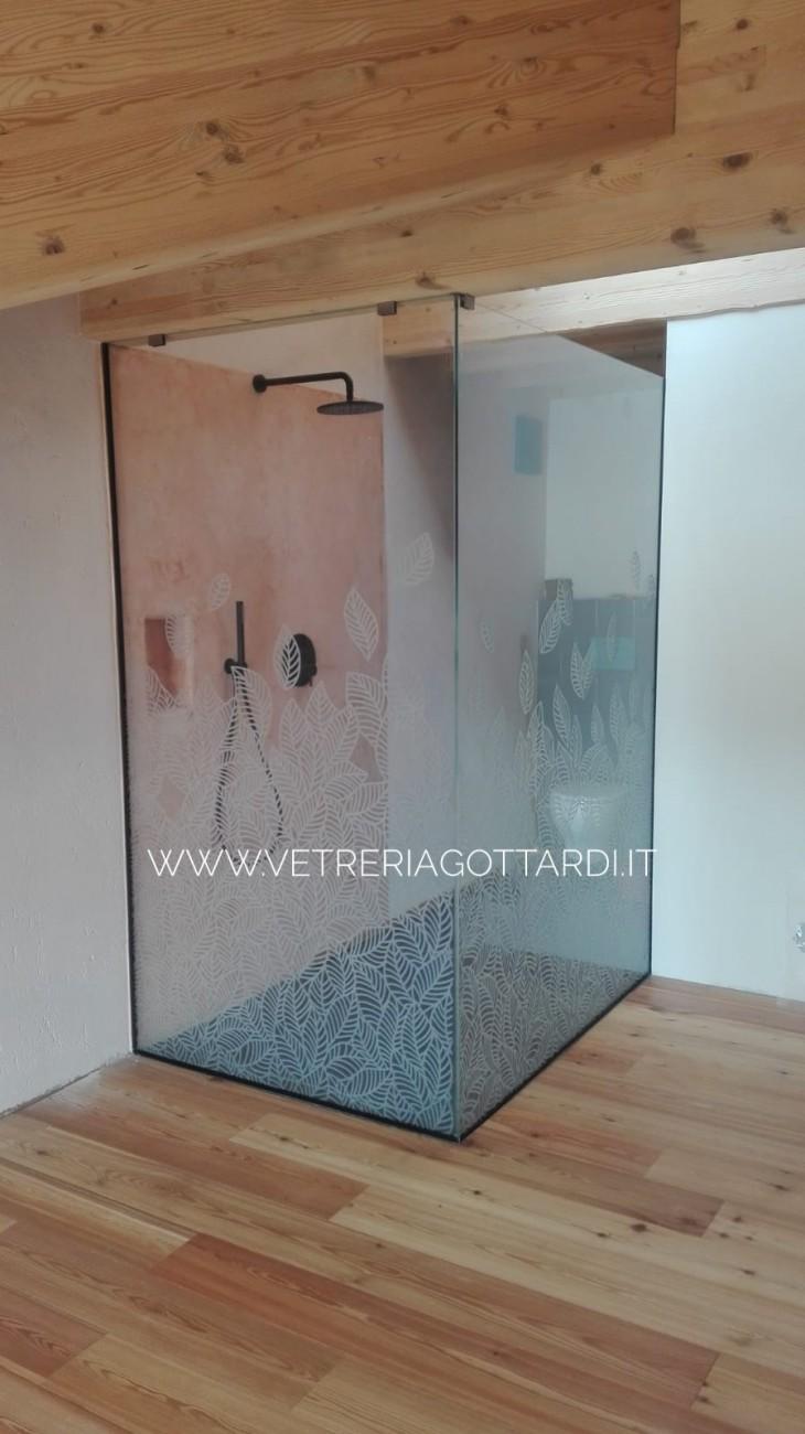 vetreria gottardi, gottardi pergine, gottardi, doccia, vetro, doccia in vetro, docce, doccia trasparente, doccia ad anta, vetro, walk in